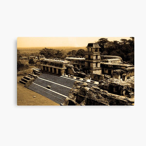 Mexican Temple Canvas Print