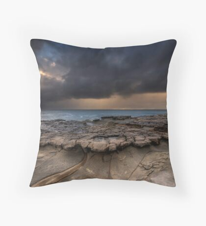 Dawn Storm Throw Pillow