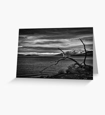 Monument Beach Greeting Card