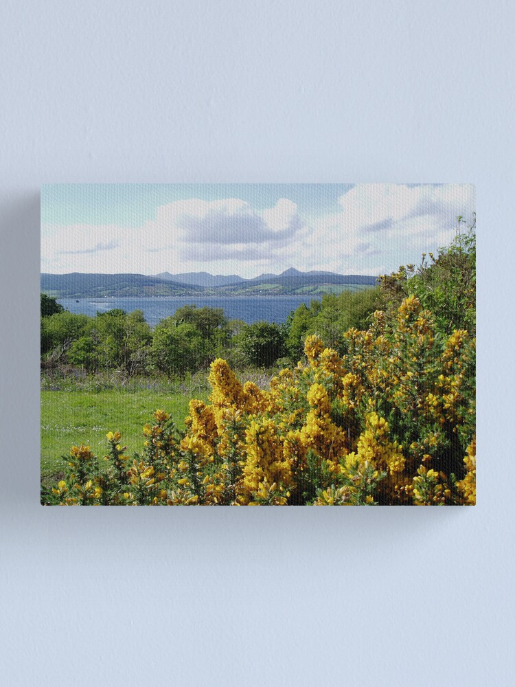Alternate view of Lamlash from King's Cross Canvas Print