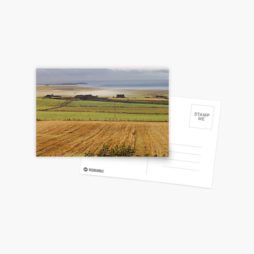 Autumn in Orkney Postcard