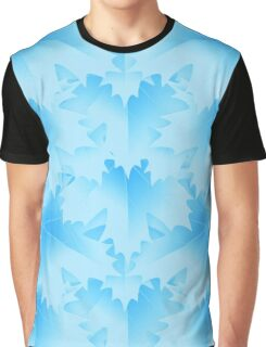 Blue Leaf Graphic T-Shirt