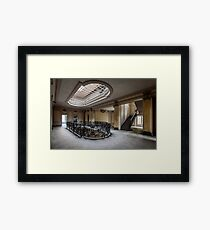 Derelict Chateau, Chateau Lumiere Framed Print