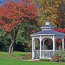 Gazebo Of Dreams by Jeff  Burns