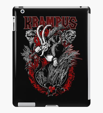 Krampus  iPad Case/Skin