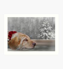 Dreamin' of a White Christmas 2 Art Print
