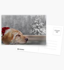 Dreamin' of a White Christmas 2 Postcards