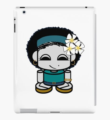 Angel Yum O'BOT Toy Robot 1.0 iPad Case/Skin