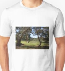 Vineyard scene Unisex T-Shirt
