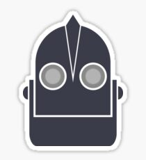 The Iron Giant's Head Sticker