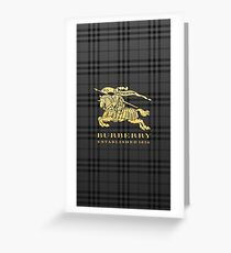 BURBERRY Greeting Card