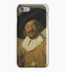 Frans Hals - A Militiaman Holding A Berkemeyer, Known As The merry Drinker , 1630 iPhone Case/Skin