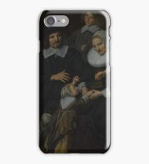 Frans Hals - A Family Group In A Landscape iPhone Case/Skin