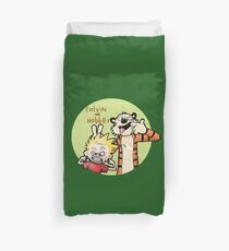 Calvin And Hobbes Funny Duvet Cover
