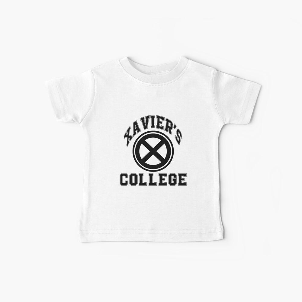 Xavier's Black & White Baby T-Shirt
