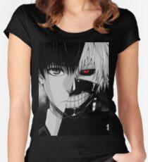 Camiseta entallada de cuello redondo Kaneki / Ghoul