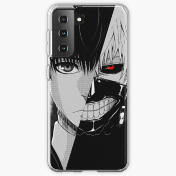 Kaneki / Ghoul Funda blanda para Samsung Galaxy