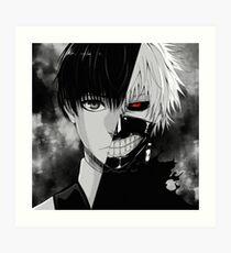 Lámina artística Kaneki / Ghoul