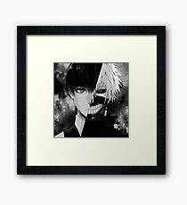 Kaneki/Ghoul Framed Print