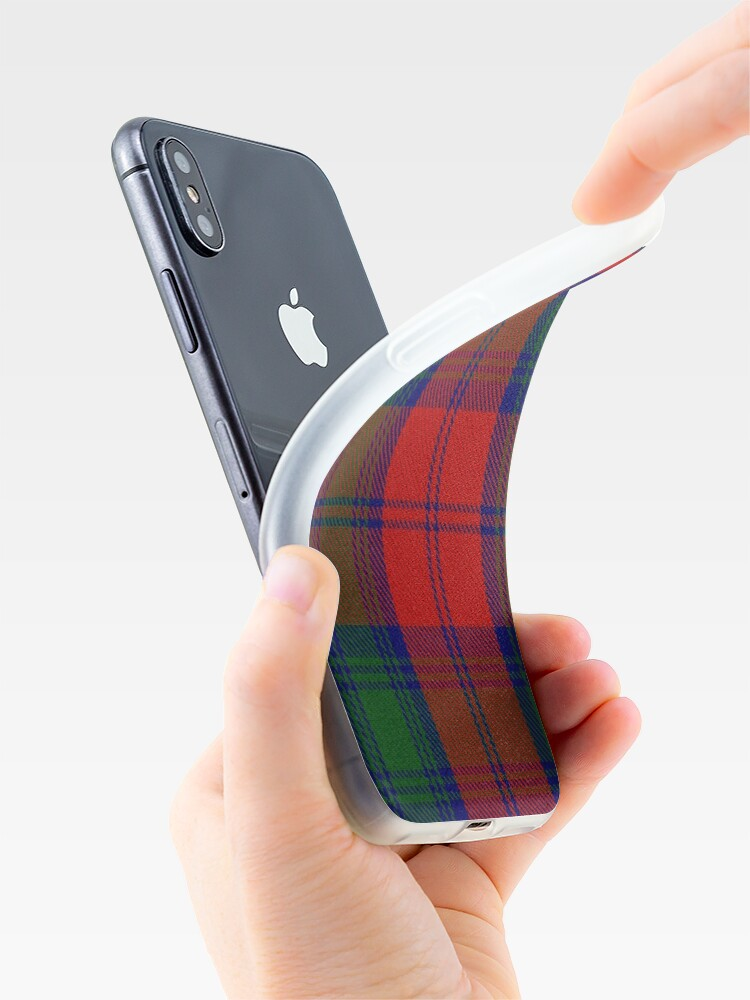 Alternate view of Lindsay Clan/Family Tartan  iPhone Case & Cover