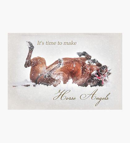 Horse Angels Photographic Print