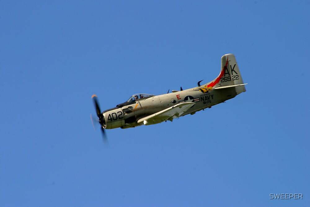 Douglas Skyraider 2 by SWEEPER