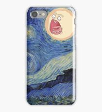Starry Night rick and morty sun  iPhone Case/Skin
