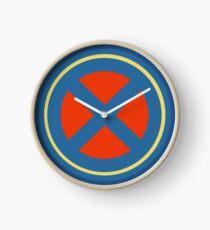 X Logo Clock