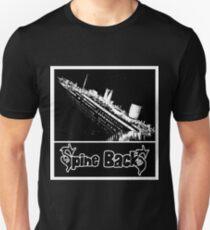 Spine BackS Titanic Unisex T-Shirt