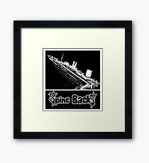 Spine BackS Titanic Framed Print