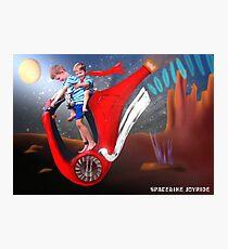 Spacebike Joyride Photographic Print