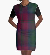 Lindsay (Chisholm Red) Clan/Family  Graphic T-Shirt Dress