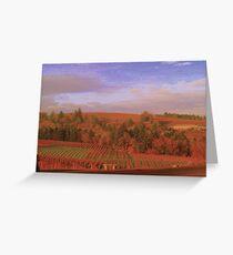 vineyard Splendor Greeting Card