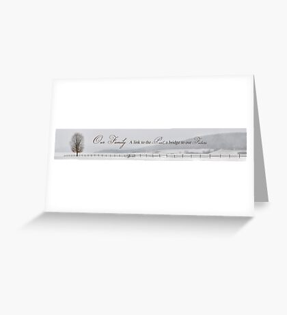 A Link to Our Past Greeting Card