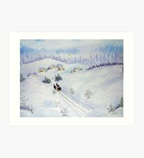 Have A Merry Christmas Art Print