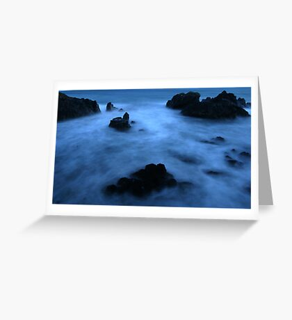 Kennack sands bay in Cornwall  Greeting Card