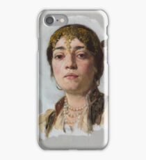 Frank Duveneck - Venetian Girl 1880 iPhone Case/Skin