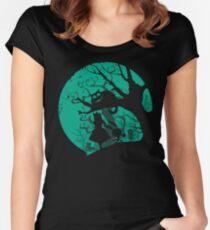 Alice in Wonderland Women's Fitted Scoop T-Shirt