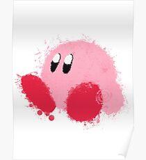 Kirby Splatter ~ ☆ Poster