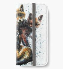 Little fox iPhone Wallet/Case/Skin