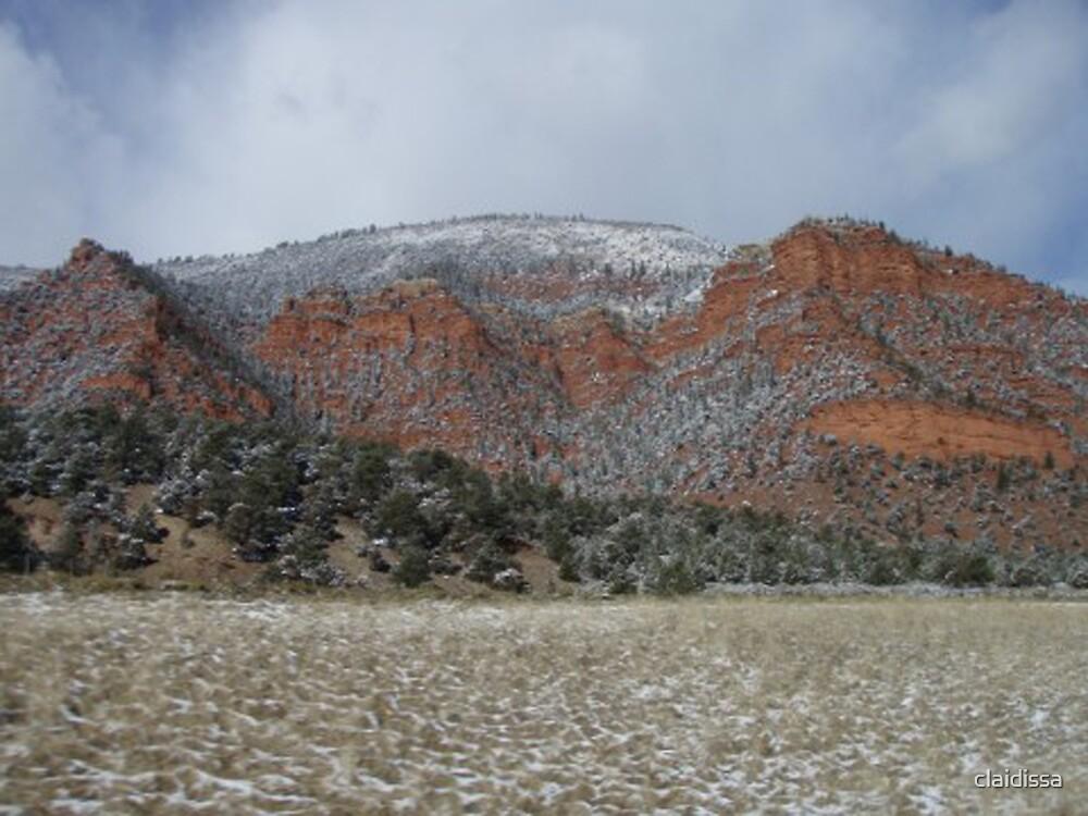 Snow Dusting Of Colorado by claidissa