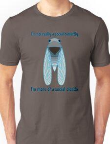 Social Cicada Unisex T-Shirt
