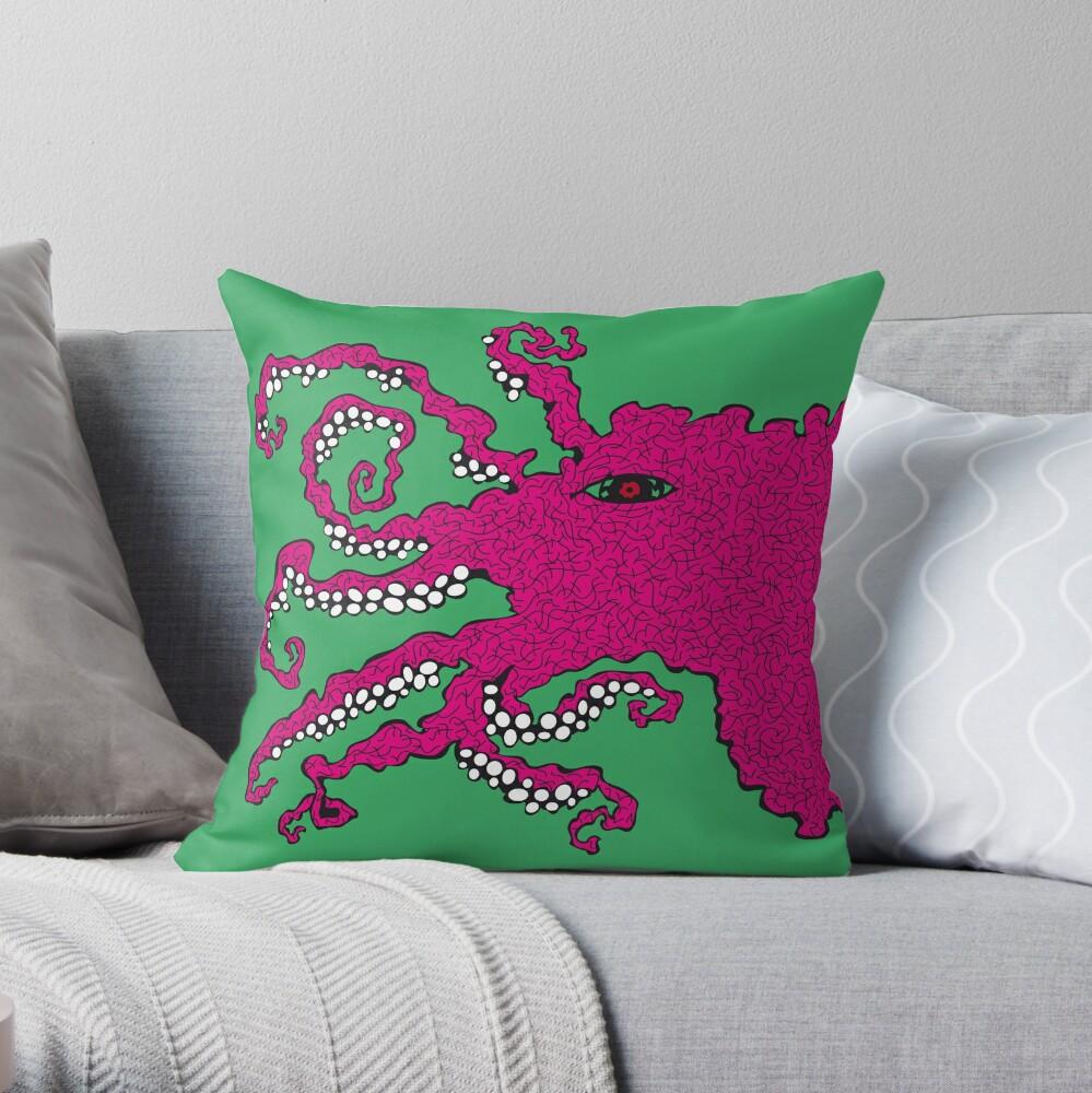 Octopus Dekokissen