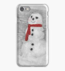 Holiday Snowman iPhone Case/Skin