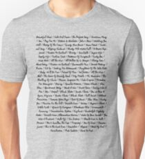 The National - All Songs T-Shirt