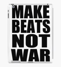 MAKE BEATS NOT WAR by 360 Sound and Vision iPad Case/Skin
