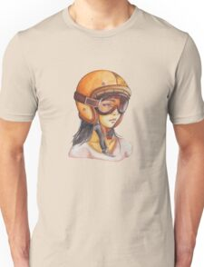 Orange Helmet Girls Unisex T-Shirt