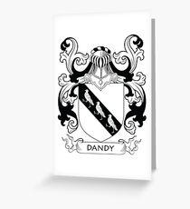 Dandy Coat of Arms Greeting Card
