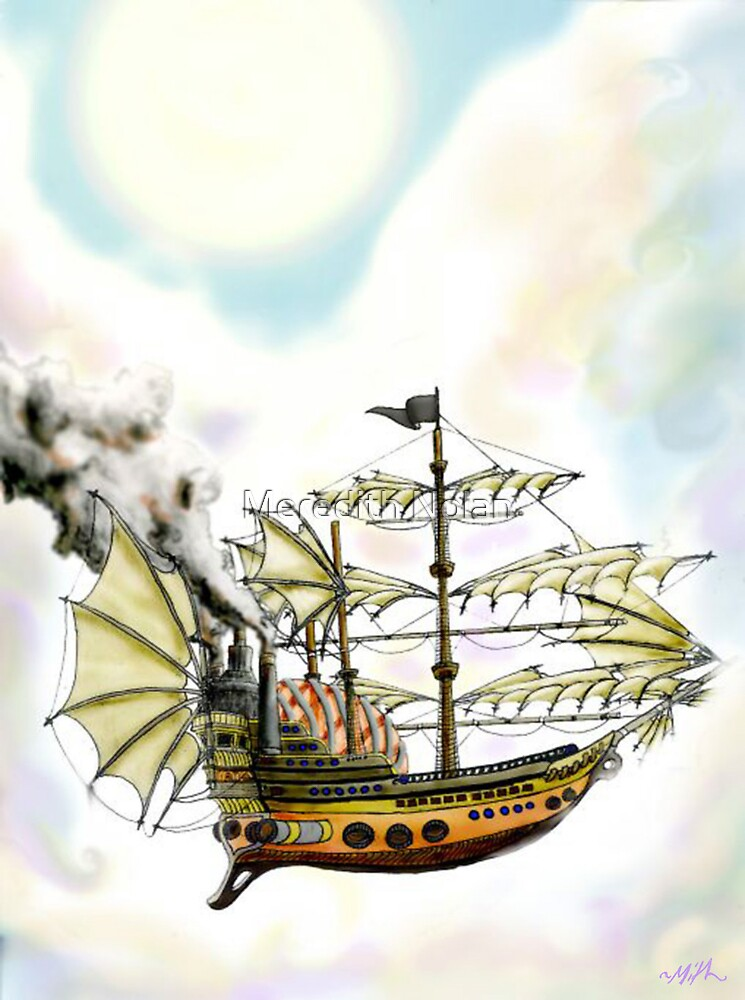 Pirate Ship by Meredith Nolan