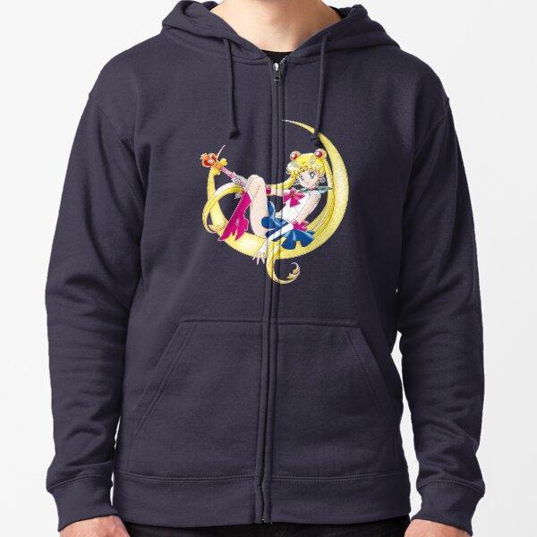 Bishoujo Senshi Sailor Moon S (Art Outline) Zipped Hoodie